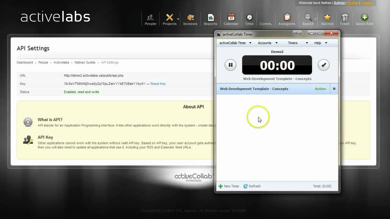 Activecollab activecollab timer intro
