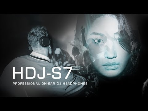 Pioneer DJ HDJ-S7 professional on-ear DJ Headphones - Deeper Connection