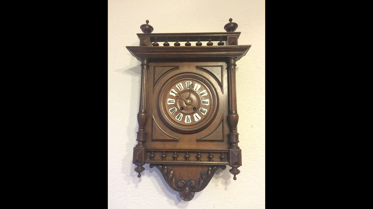 Japy freres antique french wall clock iihenry style by din973 japy freres antique french wall clock iihenry style by din973 e26 youtube amipublicfo Choice Image