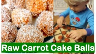 Holiday Carrot Cake Balls-low Fat