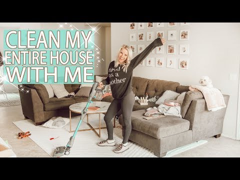 ENTIRE HOUSE CLEAN WITH ME 2019! / Extreme Cleaning Motivation / Cleaning with Borax