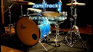 Funk  Drums Backing Track  - TheGuitarLab.net -