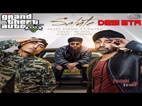 Salute|| Jassi Sandhu || GTA 5 Music Video