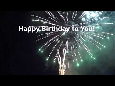 Happy Birthday Wishes With Music And Real Fireworks Send Free Greetings Quotes Card For