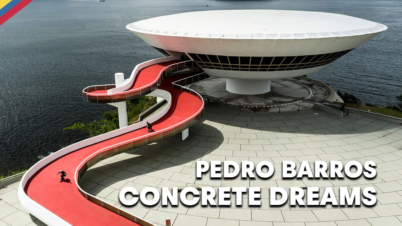 Pedro Barros Skates The Untouched Architecture Of Oscar Niemeyer  |  CONCRETE DREAMS
