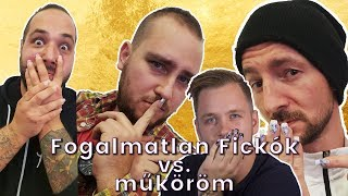 FOGALMATLAN FICKÓK VS. MŰKÖRÖM 💅🤣   LILULAND