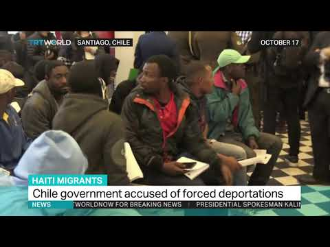 Chile 'force deports' almost 200 Haitian immigrants