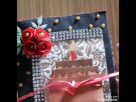 DIY CRAFT HANDMADE BIRTHDAY BOX