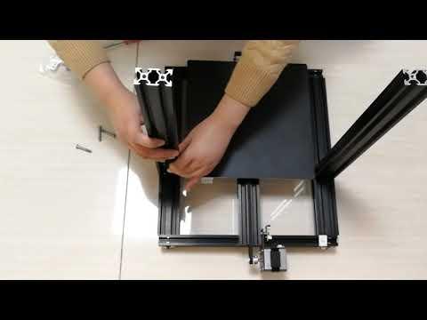 ADIMLab Gantry-S Part 4: Install Z Frame on bottom assembly
