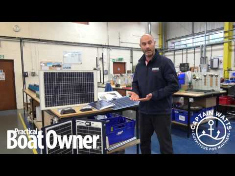 Introduction to Solar Energy & Solar Panels for your boat with Marlec