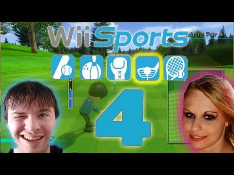 Let's Play Wii Sports Part 4: Golf Missionen & Multiplayer Match