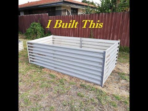 I Built  Raised Garden Beds