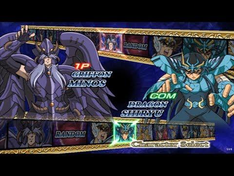 Saint Seiya: The Hades All Characters [PS2]
