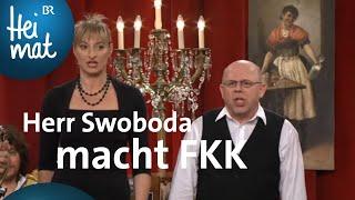 Couplet-AG – Herr Swoboda macht FKK