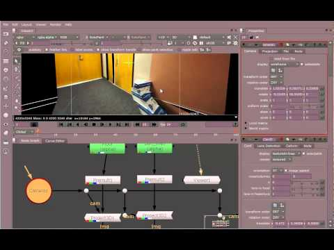 Nuke Projection Maps 2D to 3D