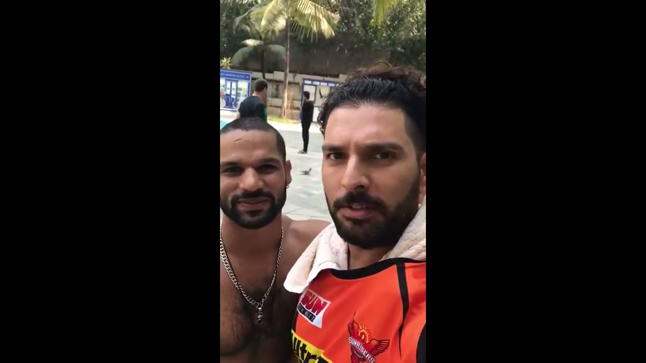yuvraj singh april fool's prank on shikhar dhawan. |2017| - youtube