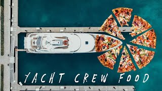 What Yacht Crew Eat | Chef Q&A