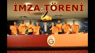 ✍ Yeni Transferlerimiz İçin İmza Töreni - Galatasaray