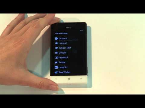 Setting up email on your Windows Phone 8S by HTC
