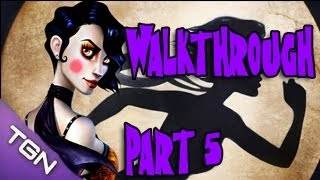 Contrast Gameplay Walkthrough Part 5 - Lets Play Playthrough [HD]  ( Indie Puzzle Game PC )
