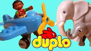 Lego Duplo Around the World Series 10804 Unboxing and Build Duplo Jungle Set