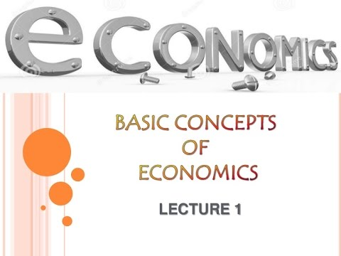 Image result for major concepts in economics