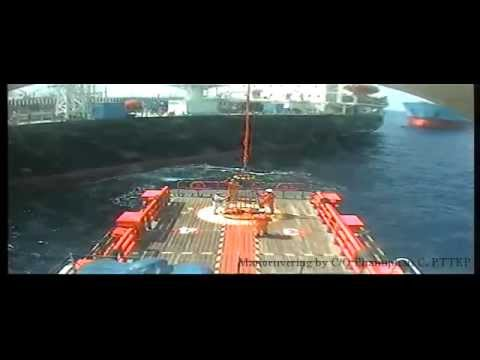 Offshore assist tanker operation by crewboat