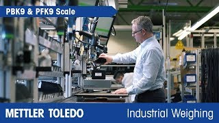 How to Weigh Accurately in Industrial Environments - Product Video - METTLER TOLEDO Industrial - en