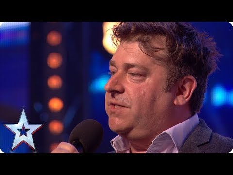 Nick Page wins over audience with HILARIOUS act!   Auditions   BGT 2018