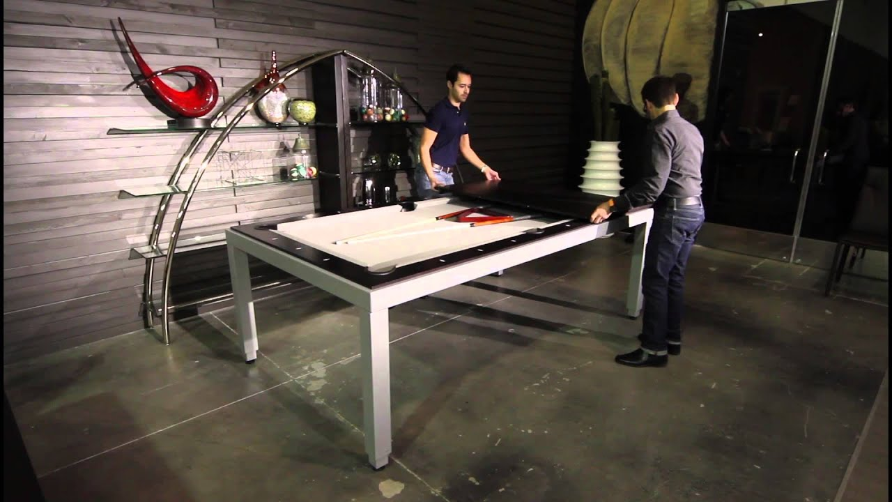 Braxton From Buying Presents: Fusion Pool U0026 Dining Table   YouTube