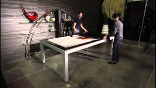 Braxton From Buying Presents: Fusion Pool & Dining Table