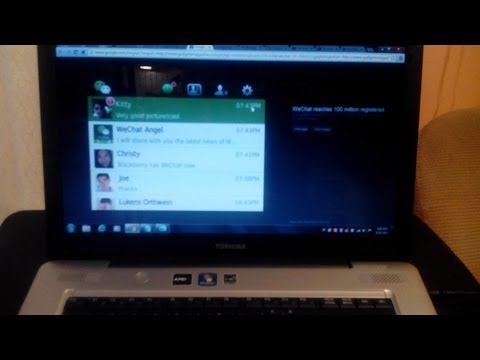 How To Install WeChat On A PC/Laptop/Computer -- Windows And Mac OS