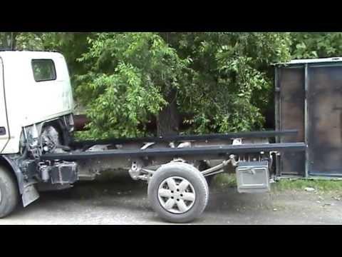Замена кузова грузовика Replacing The Back Of A Truck