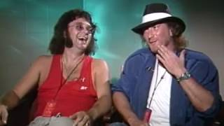 Deep Purple's Ian Paice & Roger Glover discussing touring in 1969