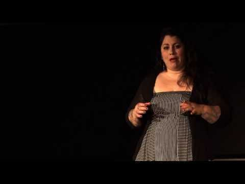 Poetry as Therapy: Rachel McKibbens at TEDxFlourCity