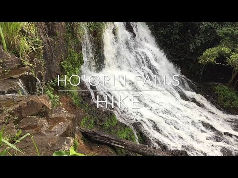Hiking Kauai, Hawaii - to Ho'opi'i Falls