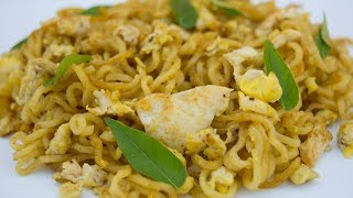 How to make | egg maggi | noodles | easy breakfast