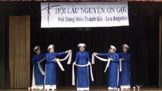 """Hội Mến Thánh Giá Los Angeles, Diễn Nguyện """"Về Với Ngài & Tình Chúa Cao Vời"""""""
