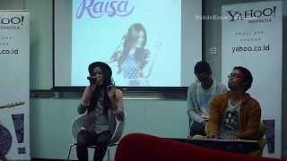 Raisa - Firasat (Live @ Yahoo! Indonesia)