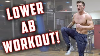 Standing Lower Ab Workout | 4 Lower Ab Exercises
