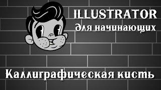 Illustrator для начинающих урок 3 ( каллиграфическая кисть)