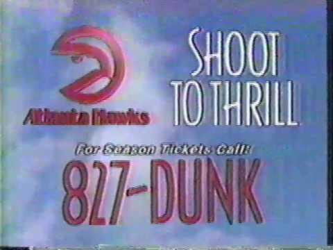"Atlanta Hawks: ""Not A Dream"" (circa 1989)"