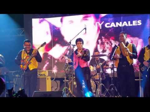 El Super Estrella La Negra Candelosa en el Show De Johnny Y Nora Canales