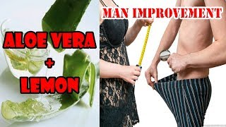 Why Aloe Vera Good for Men Using Only 2 Ingredients | Be a king in 3 hours with aloe vera