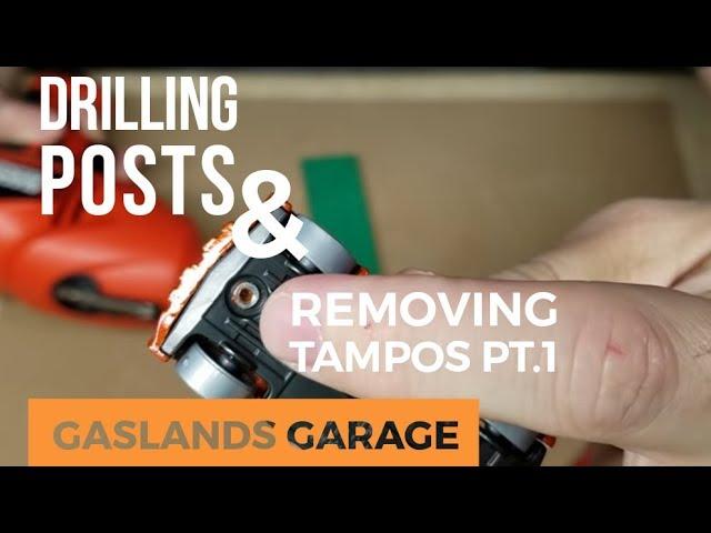 Gaslands Garage: Drilling Posts and Removing Tampos