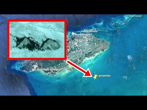 Two pyramids found on ocean floor, New Providence Island