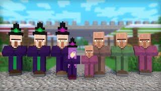Witch & Villager Life: Full Animation I - Minecraft Animation