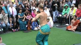 Festival of India 2012-Copenhagen! Bharat Natyam Dance by Gaura Nataraja Prabhu!