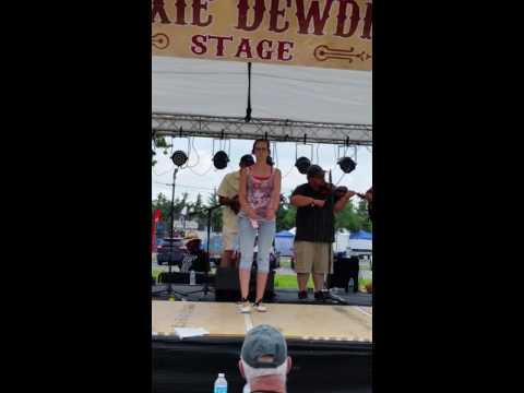 Heather Cox clogging competition Uncle Dave Macon days 2016