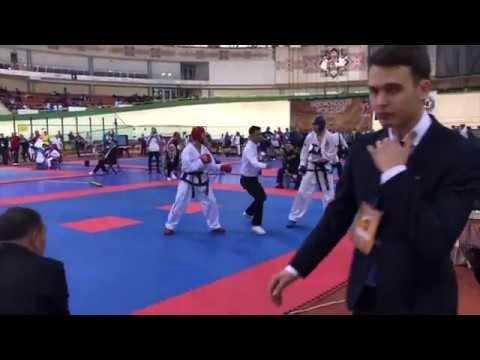 Фу Максим(Казахстан)-Сердюков Антон(Россия)57 кг.Финал Кубка Мира 2018(Беларусь)